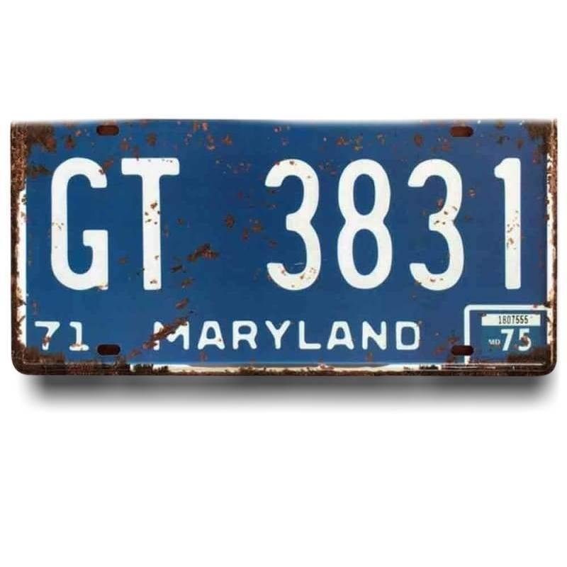 Plaque Vintage Maryland
