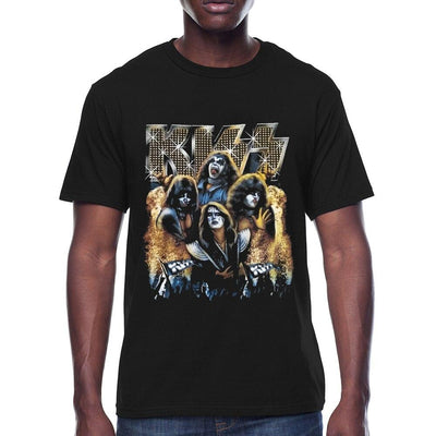 T-shirt Vintage Retro Rock Band