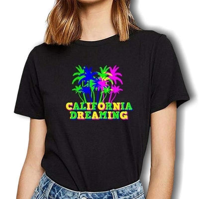 T-shirt Americain California Dreamin
