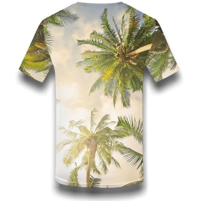 T-shirt Americain Hawaii