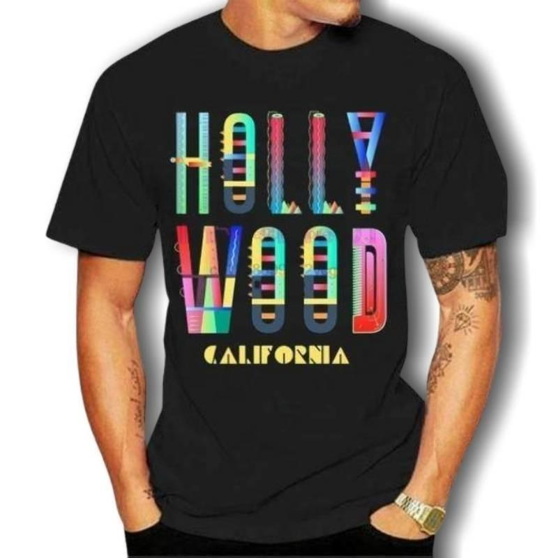 T-shirt Americain Hollywood