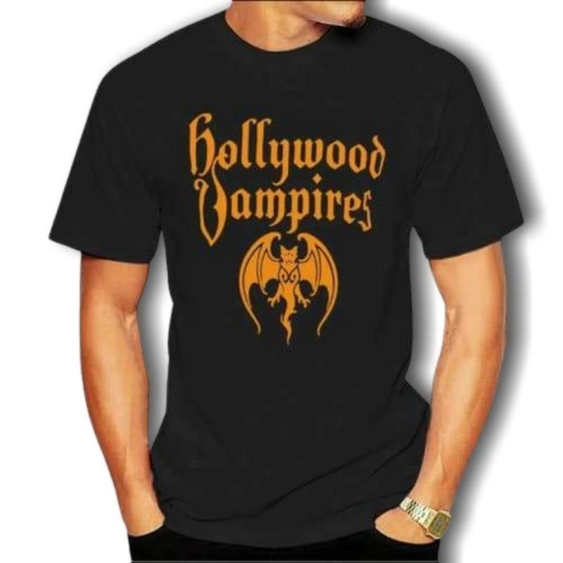 T-Shirt Vintage  Hollywood Vampires