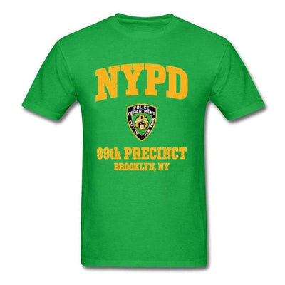T-shirt Americain New York Police Department