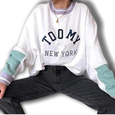 Sweat Americain New York Femme