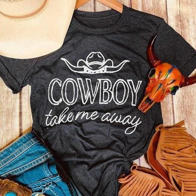 T-shirt Americain Country Femme