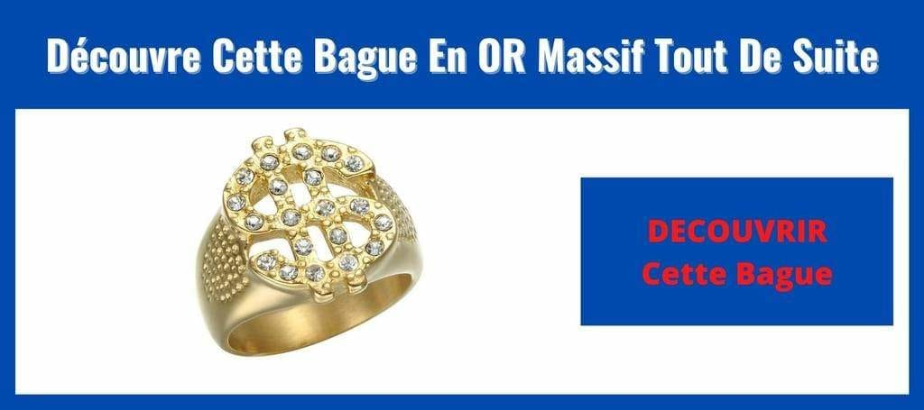 Bague En Or Au Motif Dollar