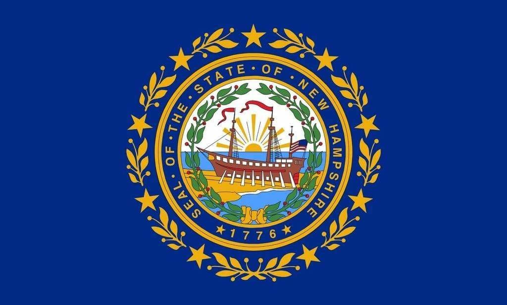 Drapeau De L'état Du New Hampshire