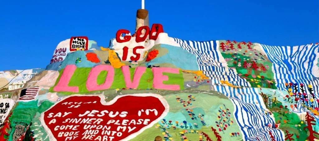 Montagne du Salut (Salvation Mountain), Calipatria