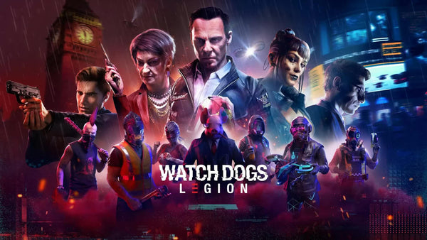 Redeem a FREE copy Watch Dogs: Legion with Nvidia! - Playtech