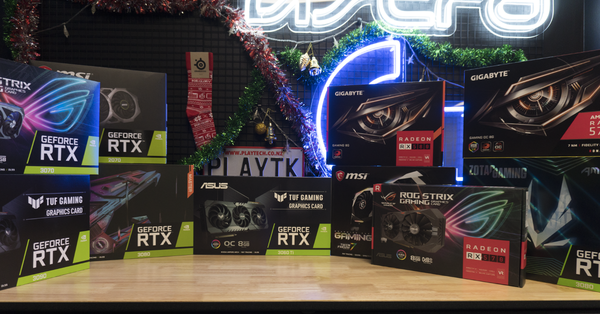 Huge range of GPU's available this Xmas! - Playtech