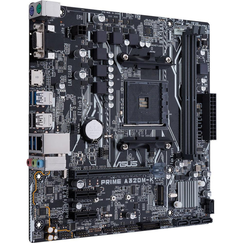 ASUS PRIME A320M-K AM4 Micro-ATX Motherboard