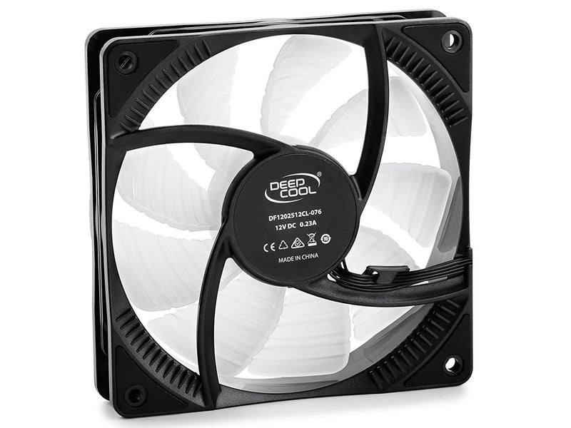 Deepcool CF120 120mm Fan with Customizable Addressable RGB LED  (3-Pack)