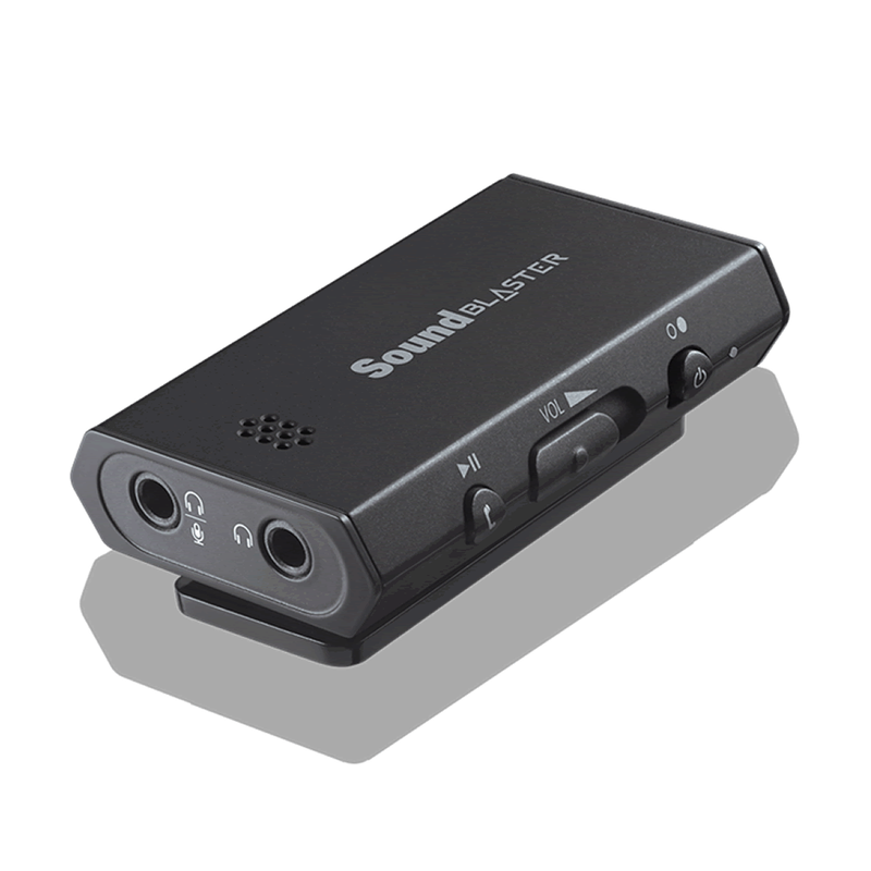 Creative Sound Blaster E1 Portable USB Sound Card