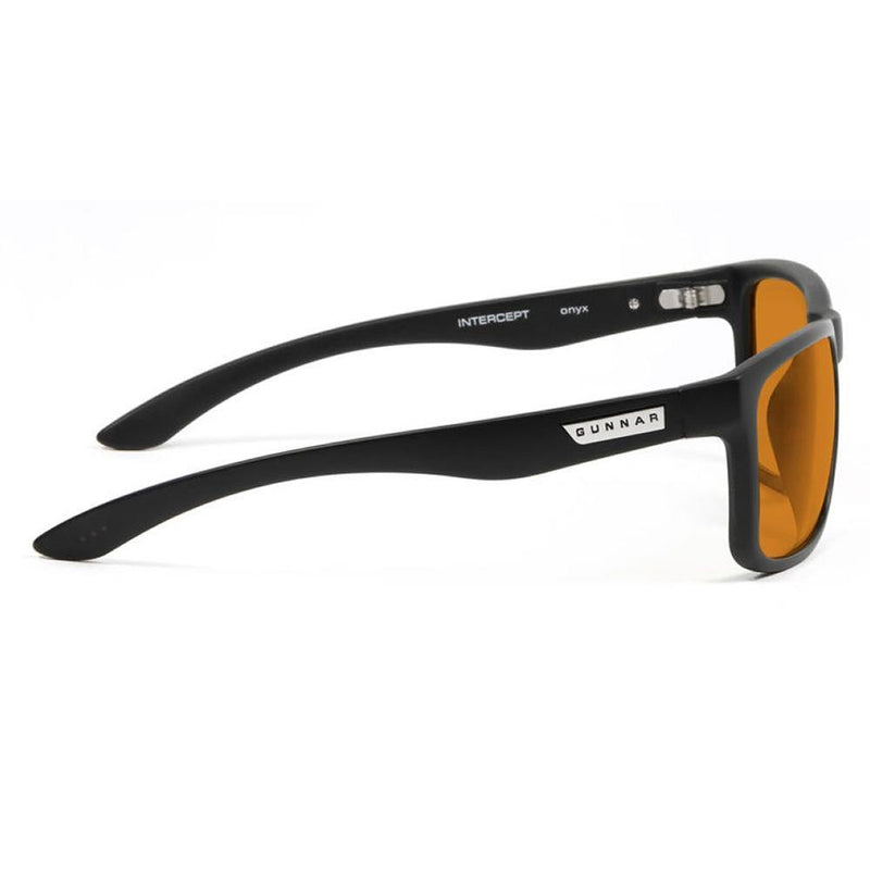 Gunnar Intercept Advanced Computer Eyewear - Onyx / Amber Max - Playtech