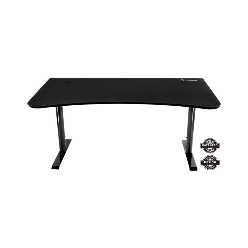 Arozzi Arena Gaming Desk - Pure Black - Playtech
