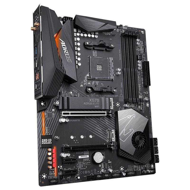 Gigabyte X570 AORUS ELITE WIFI AM4 ATX Motherboard