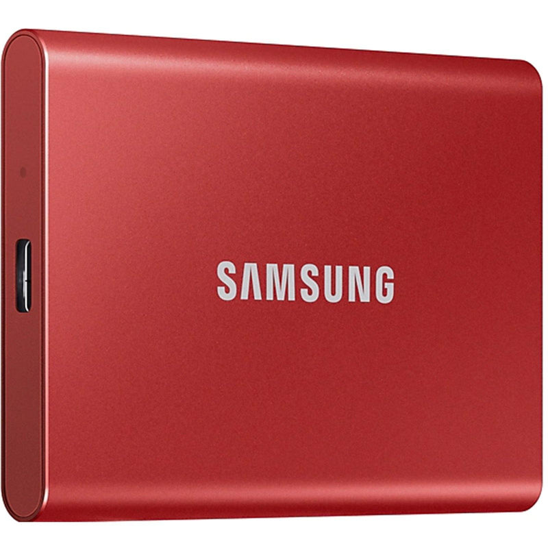 Samsung T7 500GB USB 3.2 Portable SSD - Red - Playtech