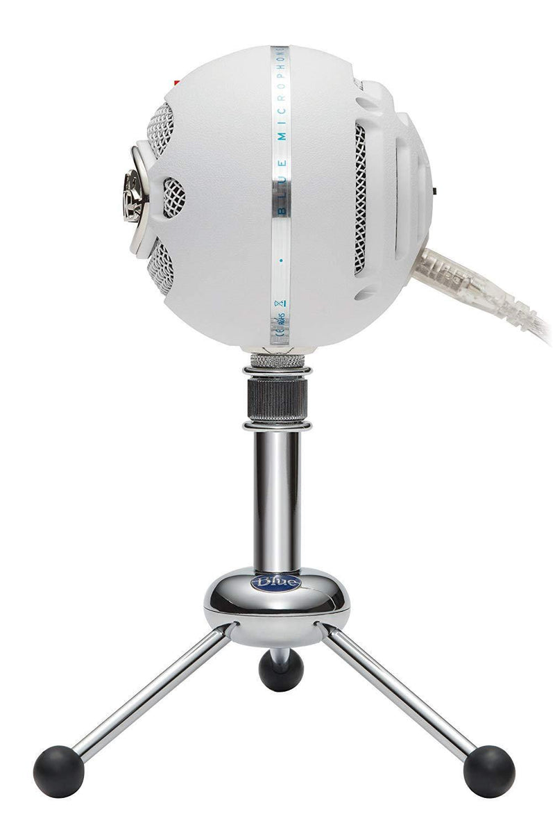 Blue Snowball Professional USB Microphone - White - Playtech