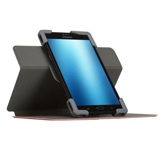 "Targus SafeFitâ""¢ Rotating Universal Tablet Case 7 - 8.5"" - Red - Playtech"