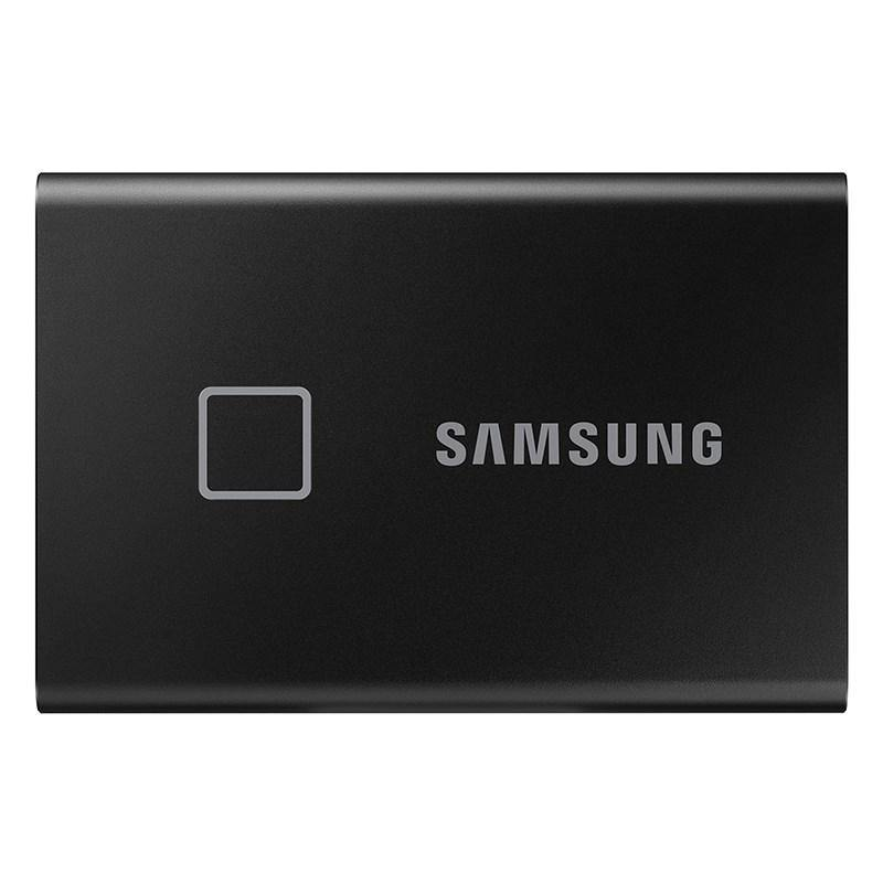 Samsung T7 Touch 1TB USB 3.2 Fingerprint Encryption Portable SSD - Black - Playtech