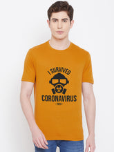 Load image into Gallery viewer, Mens Survived Corona Virus Tshirt