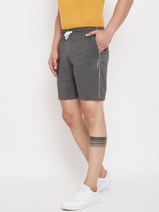 Wesquare Mens Cotton Branded Shorts