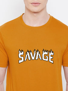 Mens Savage.Fire Tshirt