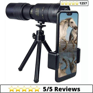 Make-trends.com 4K 10-300X40mm Monocular Telescope