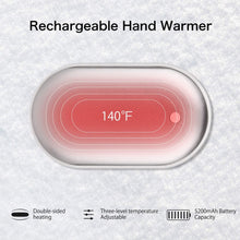 Load image into Gallery viewer, Make-trends.com Hand Warmers Rechargeable, 5200mAh Electric Portable Pocket Hand Warmers, Power Bank