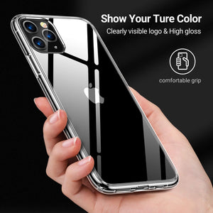 Make-trends.com iPhone 11 Pro Max Case, Clear