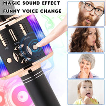 Load image into Gallery viewer, Make-trends.com Karaoke Microphone Machine System