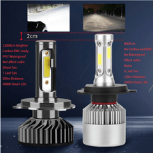 Load image into Gallery viewer, Make-trends.com LED Headlight Bulbs Conversion Kit H11, H9, H8