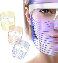 Load image into Gallery viewer, Make-trends.com light-therapy 3 Colors LED Face Mask Red Light Therapy, Led Mask Facial, Light Therapy