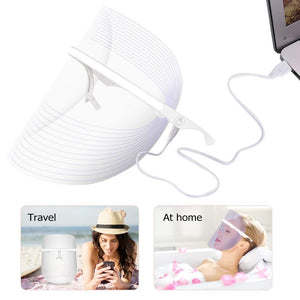 Make-trends.com light-therapy 3 Colors LED Face Mask Red Light Therapy, Led Mask Facial, Light Therapy
