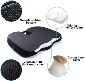 Make-trends.com Office Chair Cushion, Memory Foam Cushion