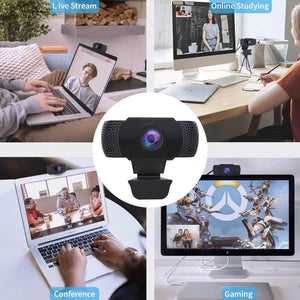 Make-trends.com Pc Camera Webcam With Microphone