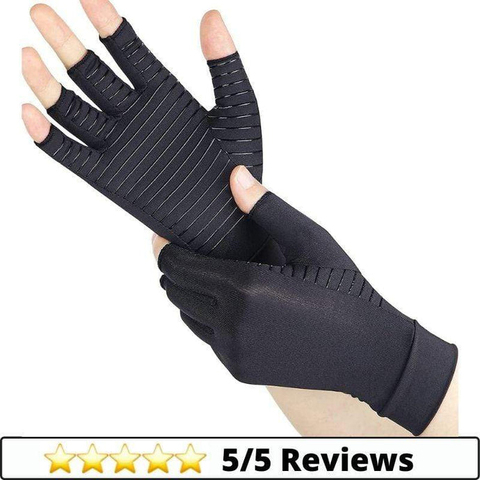 Make-trends.com Small Compression Arthritis Gloves - Fit for Women and Men (1 Pair)