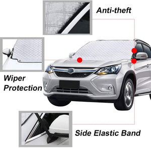 Make-trends.com Windshield Snow Cover, Car Cover Waterproof All Weather