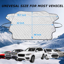 Load image into Gallery viewer, Make-trends.com Windshield Snow Cover, Car Cover Waterproof All Weather