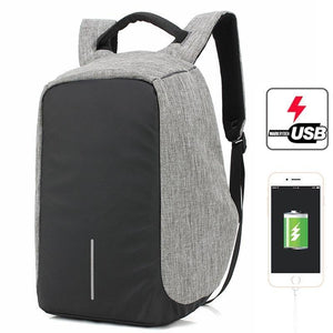 Sac à Dos Anti-Vol Multi Compartiments + Sortie Usb