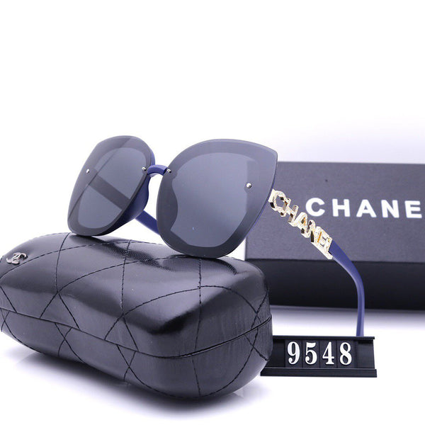5 Color wide - rimmed sunglasses