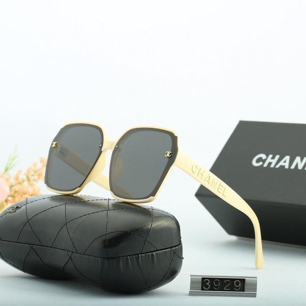 5 Color Temperament Letter Square Polarized Sunglasses