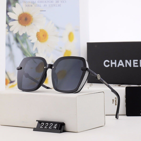 5 Colors Fashion New Letter Graphical Polarized Sunglasses#2224