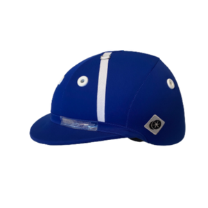 Charles Owen Sovereign Polo Helmet - Royal Blue