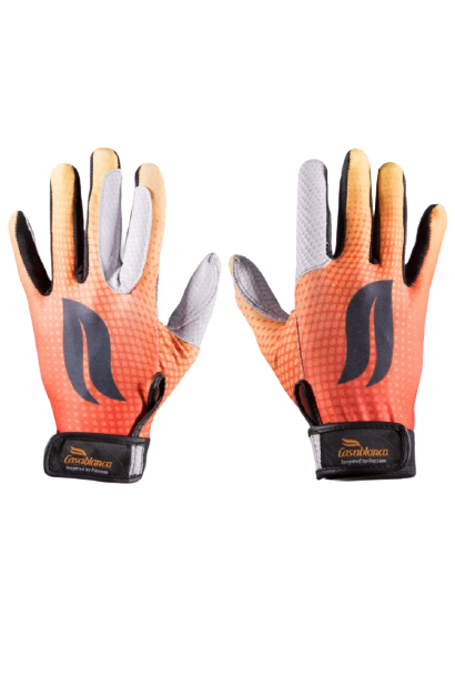 Casablanca Polo Gloves - Orange