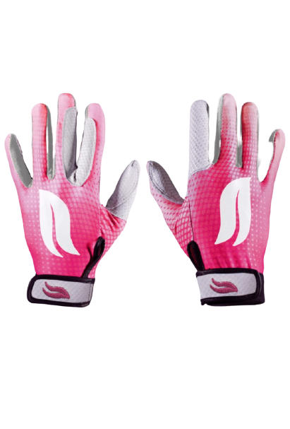 Casablanca Polo Gloves - Pink