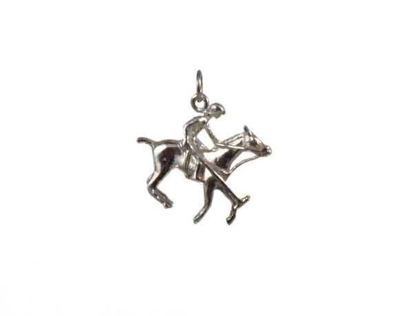 Polo Player Charm
