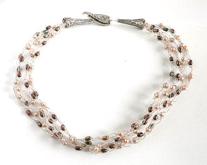 Signature Fresh Water Pearl Multi Strand Necklace