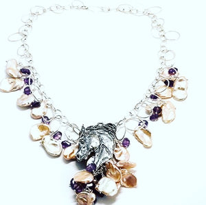 Equestrian Necklace