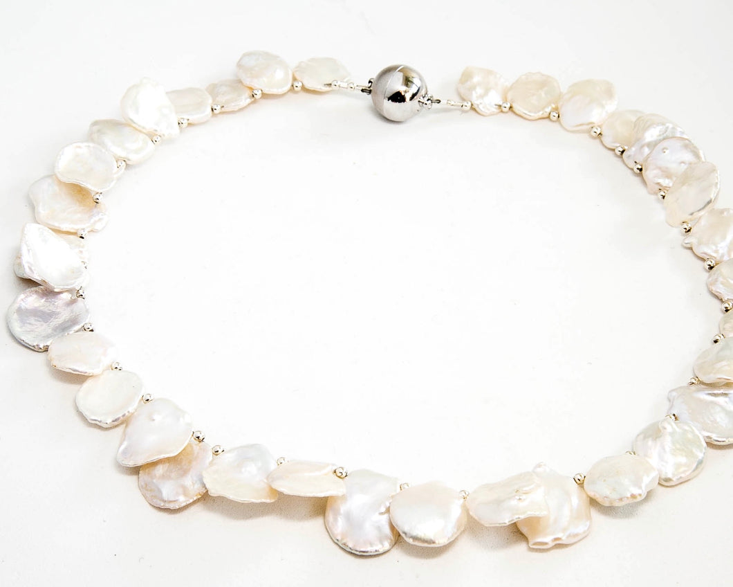 Keshi Pearl Short Necklace
